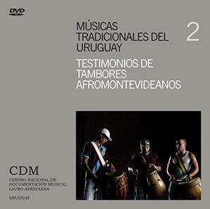 caratula DVD tambores afromontevideanos