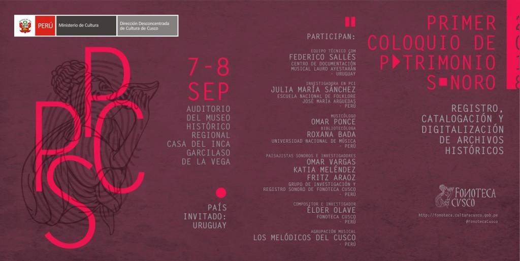 Fonoteca Cusco_PCPS